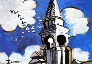Auguste Chabaud - Église Spire