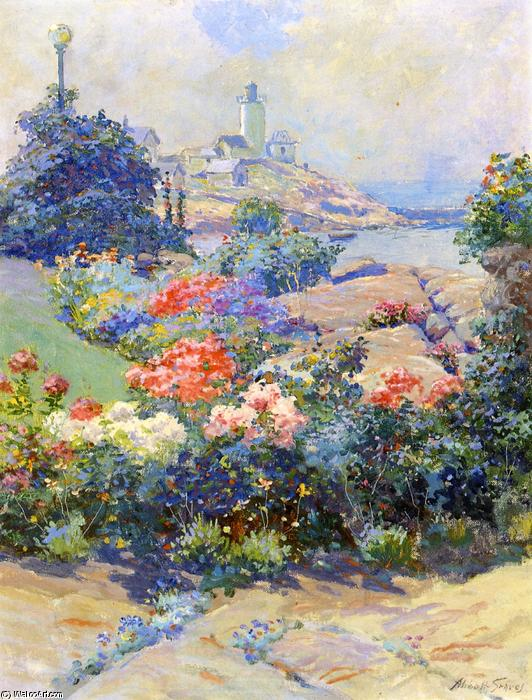 Eastern Point, Gloucester, peinture de Abbott Fuller Graves (1859-1936, United States)