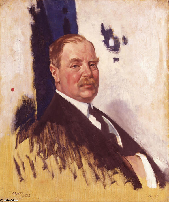 Edward George Villiers Stanley 17e comte de Derby de William Newenham Montague Orpen (1878-1931, Ireland)