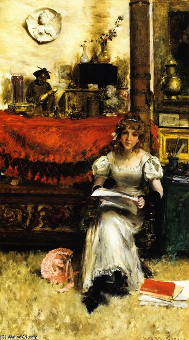 Achat Reproduction Peinture : Dans le studio, 1884 de William Merritt Chase (1849-1916, United States) | ArtsDot.com