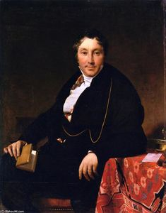Jean Auguste Dominique Ingres - Jacques-Louis Leblanc
