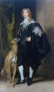 Anthony Van Dyck - portrait de james stuart ..