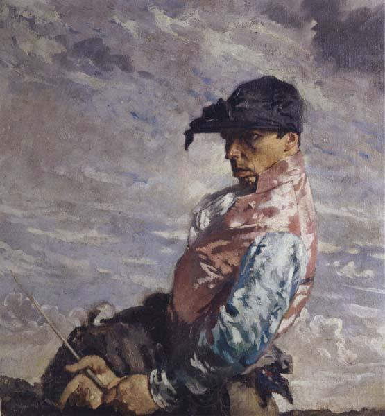 Le Jockey de William Newenham Montague Orpen (1878-1931, Ireland)