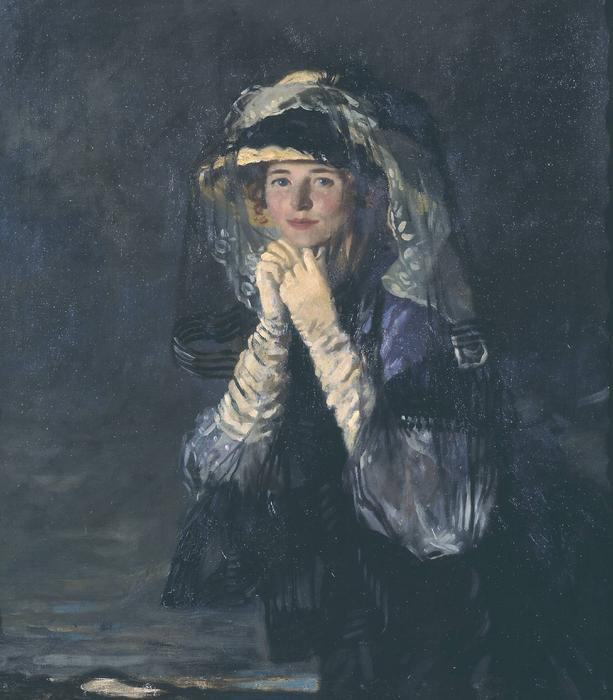 Lady Orpen, 1907 de William Newenham Montague Orpen (1878-1931, Ireland)