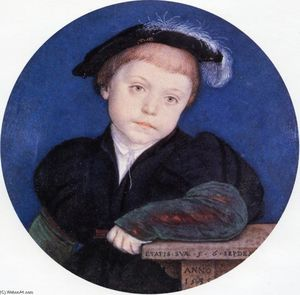 Hans Holbein The Younger - Portrait de Charles Brandon