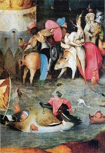 Hieronymus Bosch - Groupe des victimes