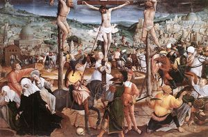Jan Provoost - Crucifixion