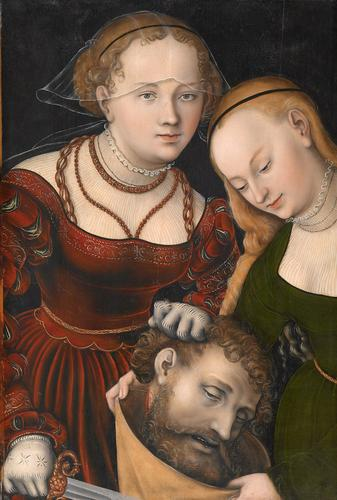 judith avec l' chef des holofernes, 1537 de Lucas Cranach The Elder (1472-1553, Germany)