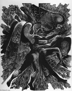 Lynd Ward - trois anges