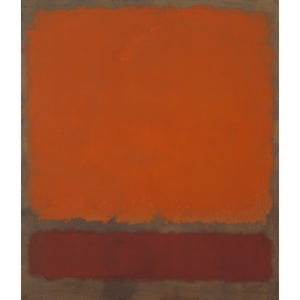 Mark Rothko (Marcus Rothk.. - Ocre et rouge  sur  rouge..