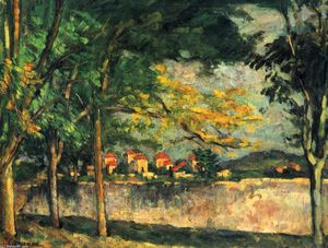 Paul Cezanne - route