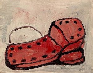 Philip Guston - chaussures