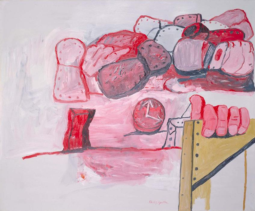 Transition, 1975 de Philip Guston (1913-1980, Canada) | Reproductions De Qualité Musée | ArtsDot.com