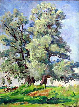 Willows, 1947 de Pyotr Konchalovsky (1876-1956, Russia) | Copie Tableau | ArtsDot.com