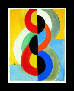 Robert Delaunay - Rhythm couleur