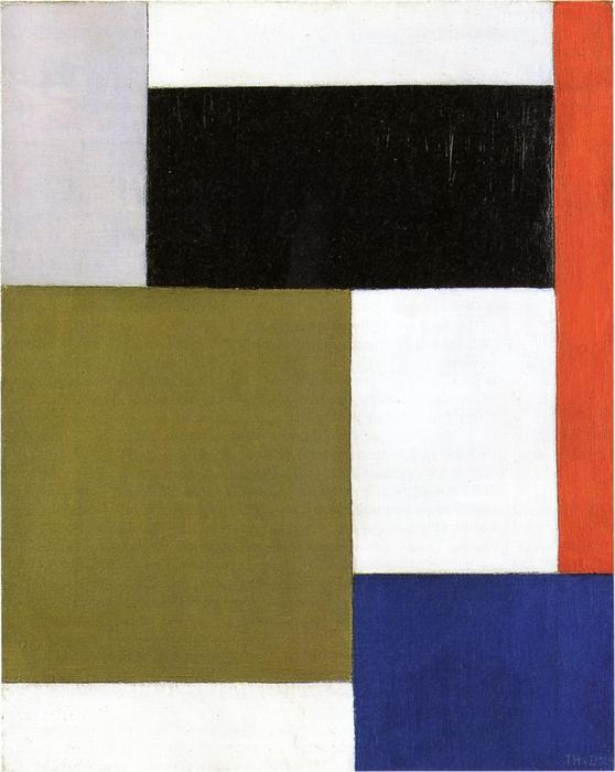 la composition, 1923 de Theo Van Doesburg (1883-1931, Netherlands) | ArtsDot.com