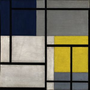 Theo Van Doesburg - Composition simultanée XX..