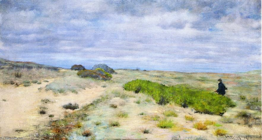 Le Pot de Hunter, pastel de William Merritt Chase (1849-1916, United States)