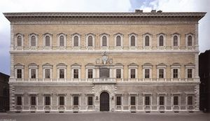 Antonio Da Sangallo The Younger - Façade du palais Farnese