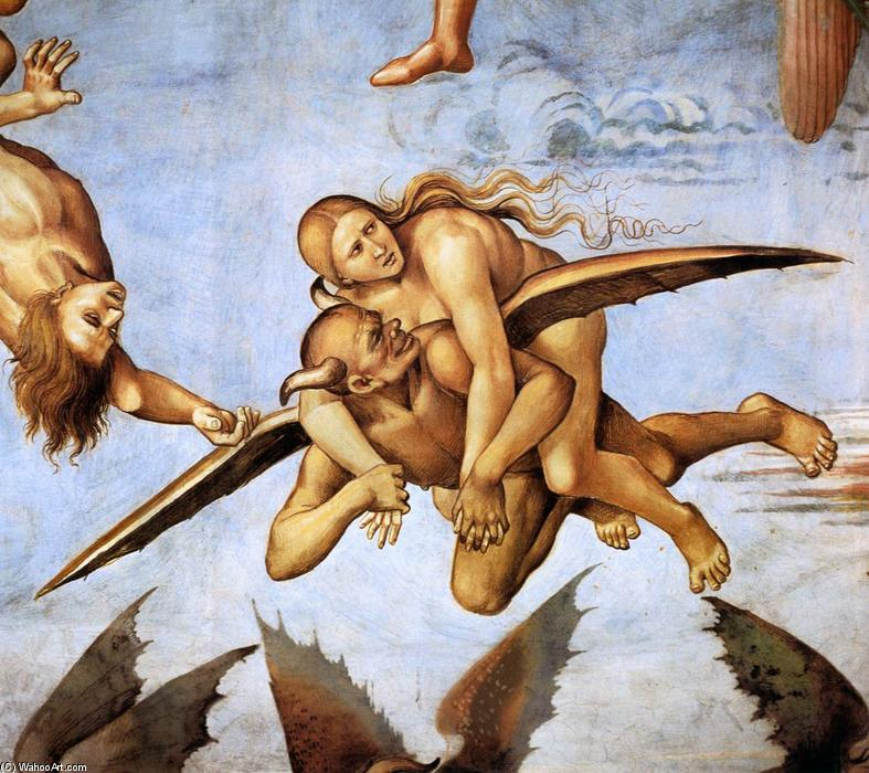 The Damned (détail), fresques de Luca Signorelli (1450-1523, Italy)