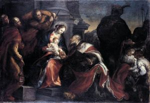 Francisco Camilo - Adoration des Mages
