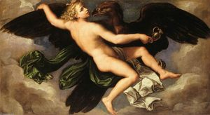 Girolamo Da Carpi - The Rape of Ganymede