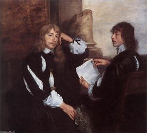 Anthony Van Dyck - thomas killigrew et ( ? )..