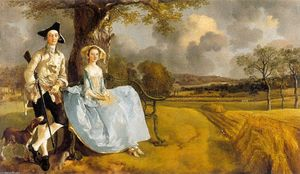 Thomas Gainsborough - m. et mme andrews