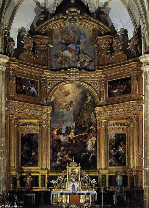 retable, 1655 de Francisco Rizi (1608-1685, Spain) | Reproductions D'art Sur Toile | ArtsDot.com