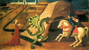 Paolo Uccello - r george et le dragon