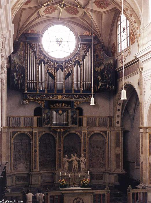 Fugger Chapelle, 1509 de Jörg The Elder Breu (1475-1537, Germany)
