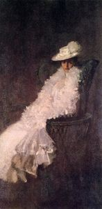 William Merritt Chase - Ma fille Dieudonnee (aussi connu comme Alice Dieudonnee Chase)
