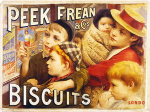 Thomas Benjamin Kennington - Peek frean cos biscuits Londre..