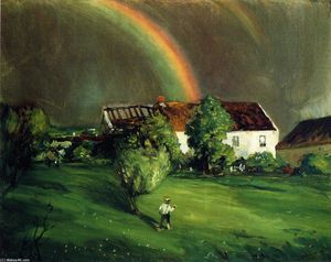 Robert Henri - The Rainbow, Hormandie