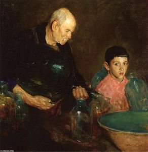 Charles Webster Hawthorne - Le raffinage du pétrole