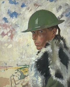 William Newenham Montague Orpen - Autoportrait Casque
