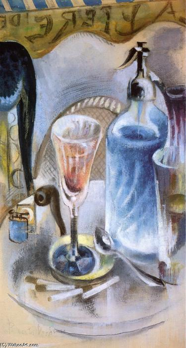 Le Siphon, aquarelle de William Preston Dickinson (1889-1930, United States)