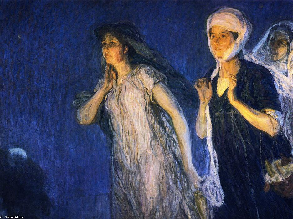 Les Trois Marys, huile sur toile de Henry Ossawa Tanner (1859-1937, United States)