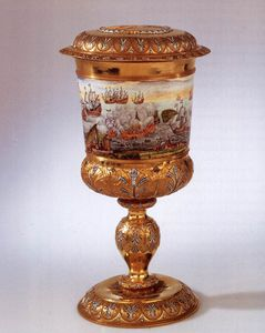 Nicolaas Loockemans - Goblet couvert