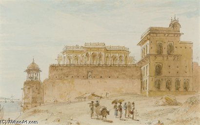 Le Chalees Setoon, Ghazipur de Thomas And William Daniell (1769-1837, United Kingdom)