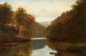 William Mellor - On The Dee Au Llangollen