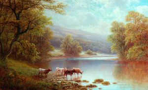 William Mellor - Sur Le Wharfe, Bolton Woods