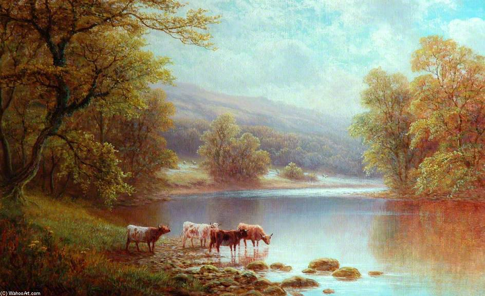 Sur Le Wharfe, Bolton Woods de William Mellor (1851-1931, United Kingdom) | ArtsDot.com