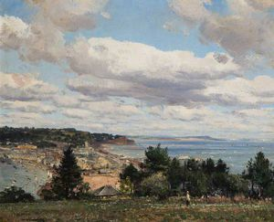 William Page Atkinson Wells - Teignmouth De Torquay route