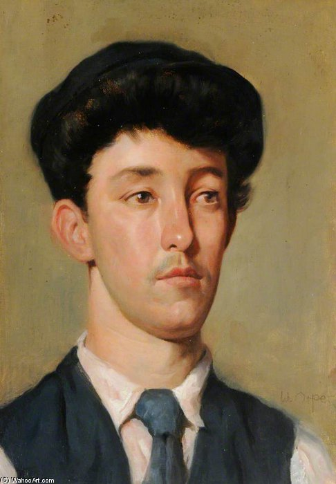 Achat Reproductions De Qualité Musée : portrait d`un jeunesse de William Newenham Montague Orpen (1878-1931, Ireland) | ArtsDot.com