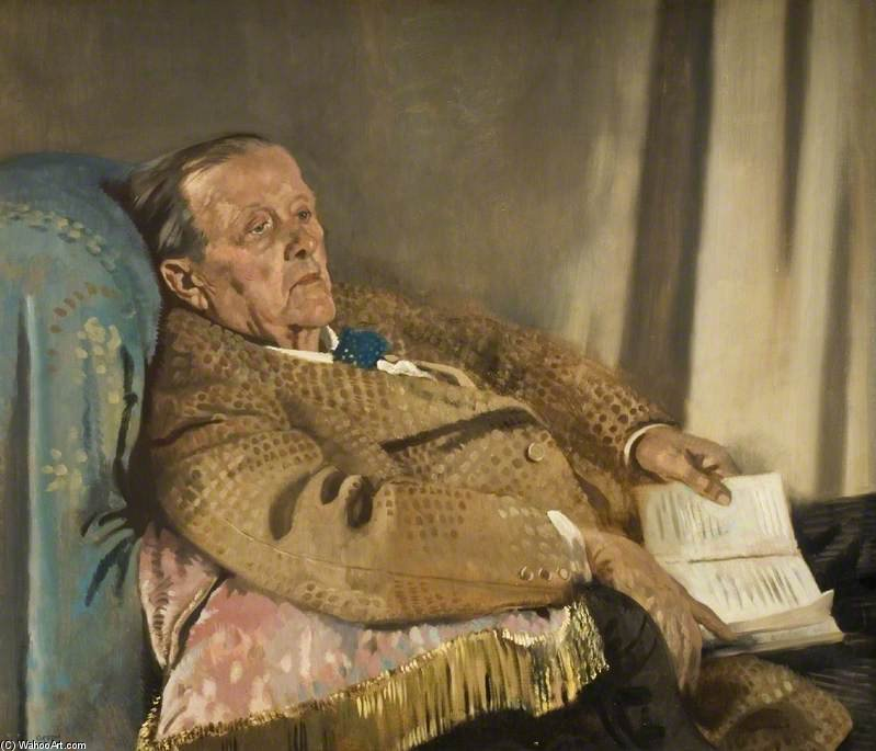 Sir Edwin Ray Lankester de William Newenham Montague Orpen (1878-1931, Ireland) | Reproductions De Qualité Musée | ArtsDot.com