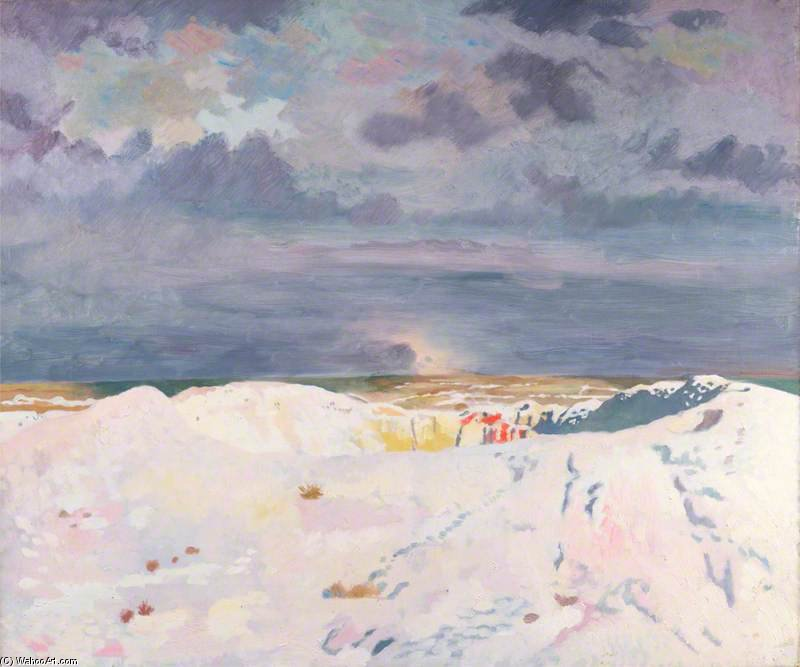 La Grande Mine, La Boisselle de William Newenham Montague Orpen (1878-1931, Ireland)