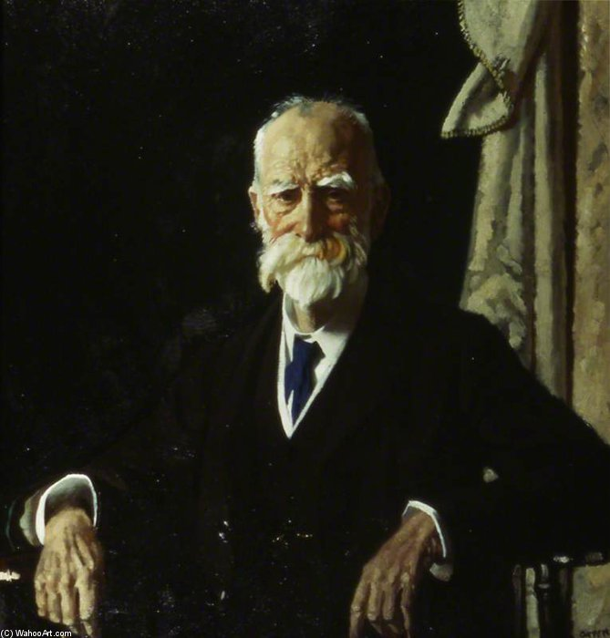 Le très honorable vicomte Bryce, GCVO, Pc de William Newenham Montague Orpen (1878-1931, Ireland)