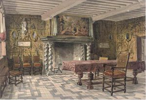 Joseph Nash The Younger - Brewers Corporation Chambre, Anvers