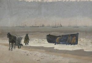Joseph Nash The Younger - Yarmouth Beach, Norfolk